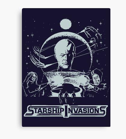 starship invasions Canvas Print