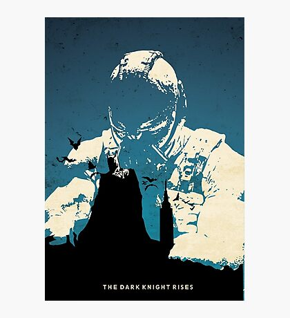 The Dark Knight Rises Photographic Print