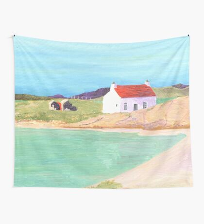Hebridean Bay 2 Wall Tapestry