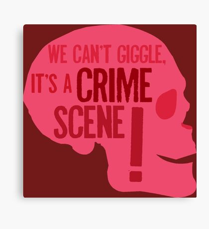 SHERLOCK QUOTES Canvas Print