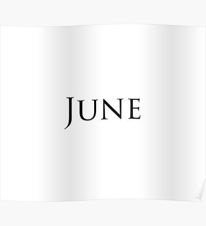 June Poster