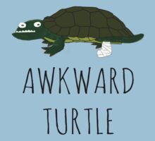 AWKWARD TURTLE by Bundjum
