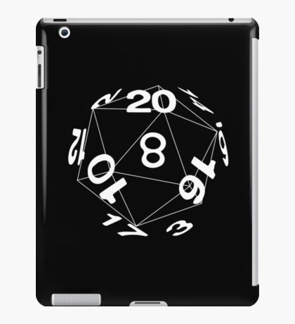 Tabletop role playing games magic dice art iPad Case/Skin