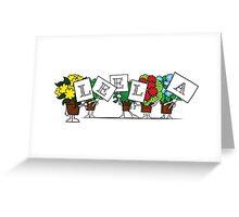 Plant Poses - Leela Greeting Card