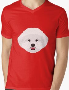Bichon Frise Mens V-Neck T-Shirt