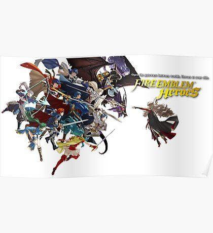 Fire Emblem Heroes - Main Cast Poster