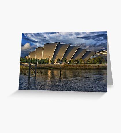 The Armadillo, Glasgow SECC Greeting Card