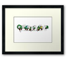 Plant Poses - Melody Rae Framed Print