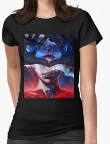 Create and Destroy Womens Fitted T-Shirt