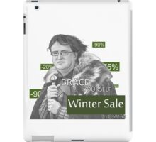 winter is comming iPad Case/Skin
