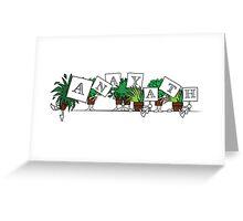 Plant Poses - Anayath Greeting Card