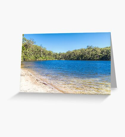Big Brook Dam, Pemberton, Western Australia #4 Greeting Card