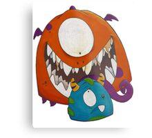 Monsters!!! Metal Print