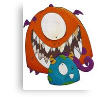 Monsters!!! Canvas Print