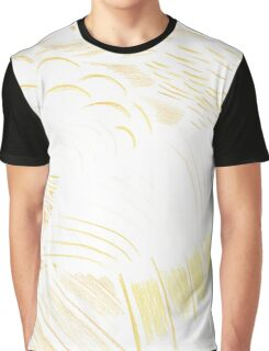 Abstract Money Cat Graphic T-Shirt