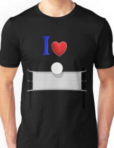 I Love Volleyball Unisex T-Shirt