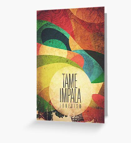 Tame Impala Lonerism Greeting Card