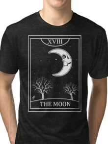 The Moon Tarot Tri-blend T-Shirt