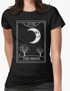 The Moon Tarot Womens Fitted T-Shirt