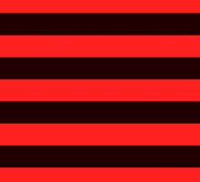 Red and Black Banded Design  by Sookiesooker