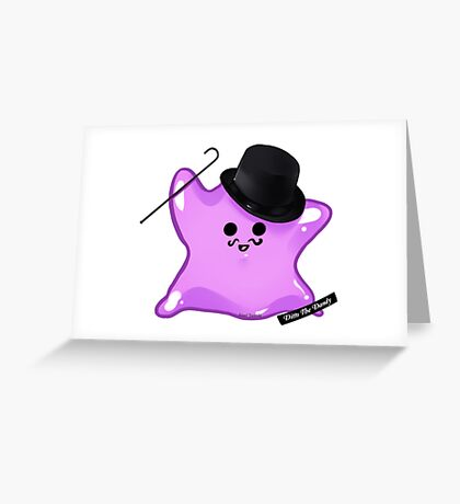 Ditto The Dandy Greeting Card