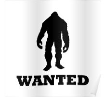 Bigfoot Wanted Poster
