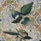 Birds and Tree Ring Inspiration by Sarah Butcher