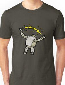 cartoon robot Unisex T-Shirt