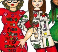Christmas Jumpers Sticker