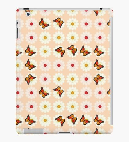 Daisies and butterflies iPad Case/Skin