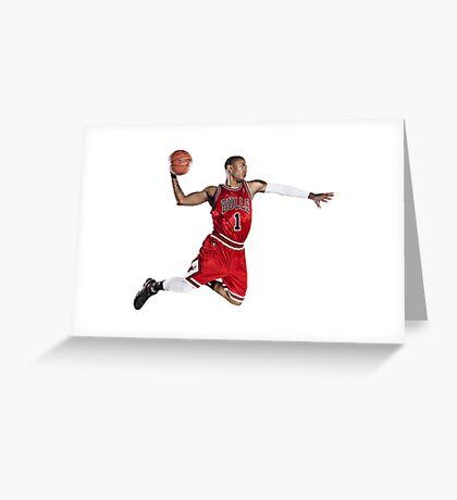 Michael Jordan/ Bulls Greeting Card