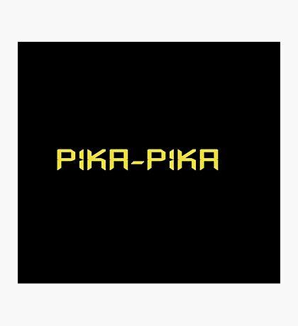 Pika-pika Photographic Print