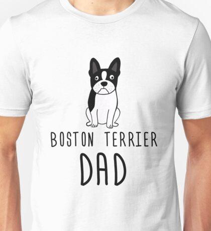 Boston Terrier Dad Unisex T-Shirt