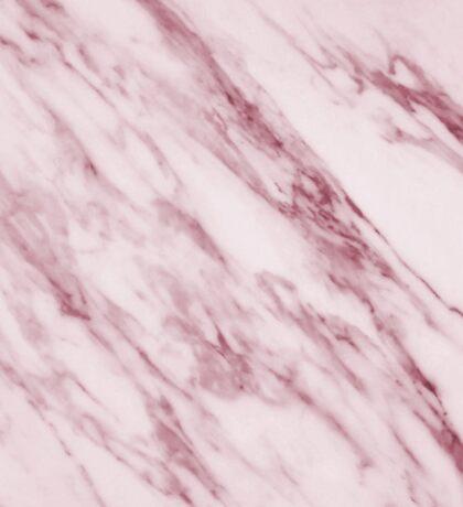 Marble Pattern - Swirled Raspberry Pink Marble Sticker