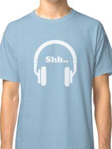 Headphones and music Classic T-Shirt