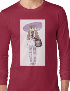 Lillie with Nebby in THE BAG! Long Sleeve T-Shirt