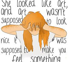 Eleanor and Park - Art Quote by ZannahP