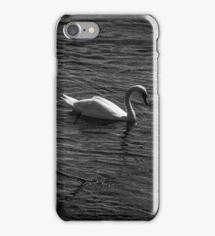 Boat and Swan iPhone Case/Skin