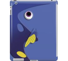 Blue ornamental fish cartoons iPad Case/Skin