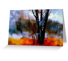 The Grove...Morning Mist Greeting Card