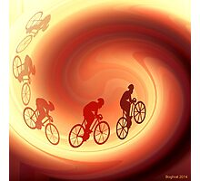 Bicycles  Photographic Print