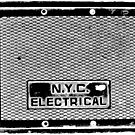 NYC Electrical Black by Sam Blower