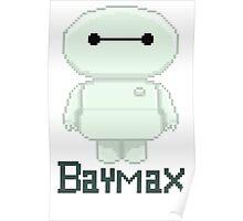 Big hero 6 baymax  chibi Poster