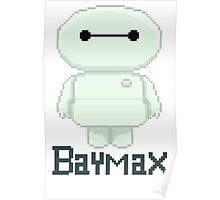 Big hero 6 baymax  chibi Poster