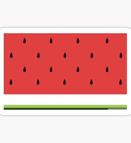 Up Close Watermelon Sticker
