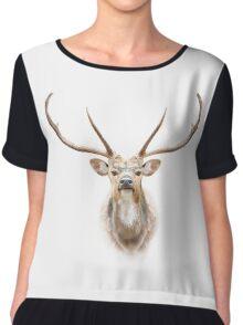 Deer face Chiffon Top