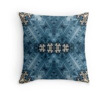 The Fabric of Time Throw Pillow