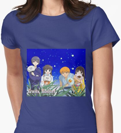 Fruits Basket Womens Fitted T-Shirt