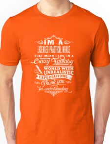Licensed Practical Nurse Unisex T-Shirt