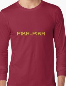 Pika-pika Long Sleeve T-Shirt